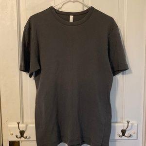 American Apparel Gray T-Shirt Men's Minimalist M